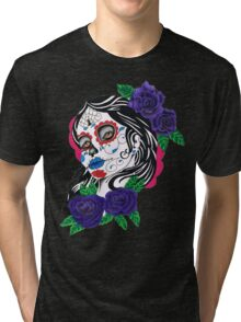 day of the dead girl Tri-blend T-Shirt