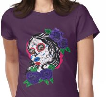 day of the dead girl Womens Fitted T-Shirt