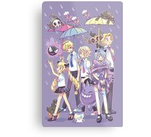 Fire Emblem - Nohr Family in the Rain Metal Print