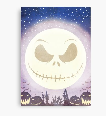 Scary Town Canvas Print