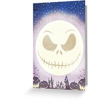Scary Town Greeting Card