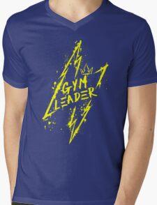 Instinct Gym Leader Mens V-Neck T-Shirt