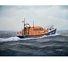 "Royal National Lifeboat Institution MLB ""The Morrell"" Photographic Print"