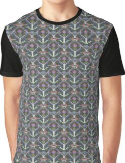 Tribal Strick-Muster  Graphic T-Shirt