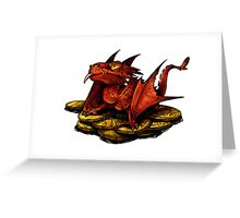 Little Smaug Greeting Card