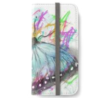 Playing with colors butterfly iPhone Wallet/Case/Skin