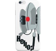 Hello? Portal Turret iPhone Case/Skin