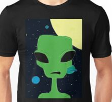 Ugly Doodle Alien  Unisex T-Shirt