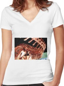Houston Museum of Natural Science Women's Fitted V-Neck T-Shirt