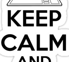 Keep calm and have no life Sticker