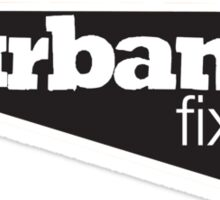 Urban Fixie Bikes Sticker