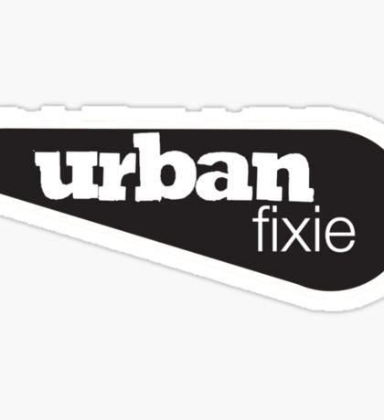 Urban Fixie Bikes Sticker