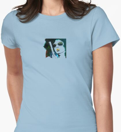 Retro Chick Womens Fitted T-Shirt