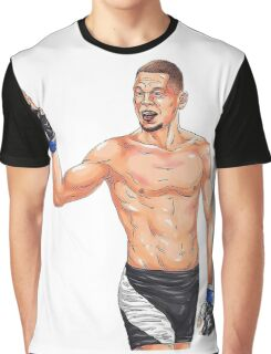 Nate diaz Graphic T-Shirt
