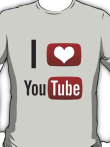 I Heart Youtube! T-Shirt