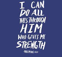 Philippians 4: 13 x Mint Pullover