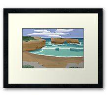 Edge of Oz #3 Framed Print