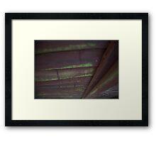 Surreal Wood Framed Print