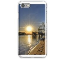 Late February Sunset over the Illinois iPhone Case/Skin