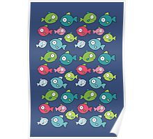 Little fishes Poster