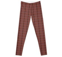 Chocolate Candy Bar Texture Collection Leggings