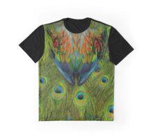 Nicobar-Peacock Fantasy 2 Graphic T-Shirt