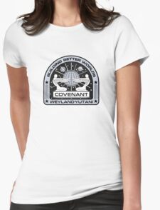 COVENANT CREST Womens Fitted T-Shirt