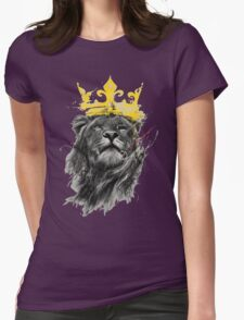 King of the Jungle Womens Fitted T-Shirt