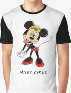 Minnie Cyrus (Miley Cyrus and Minnie Mouse Parody Mix) Graphic T-Shirt