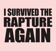 I Survived The Rapture. Again. Kids Clothes