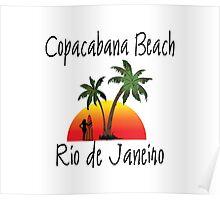 Copacabana Beach Poster