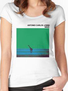 Antonio Carlos Jobim - Wave Women's Fitted Scoop T-Shirt