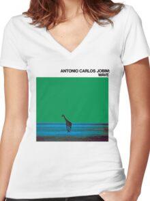 Antonio Carlos Jobim - Wave Women's Fitted V-Neck T-Shirt