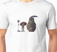 Xfiles - Ghibli (Totoro Bus Stop) Chewie version Unisex T-Shirt