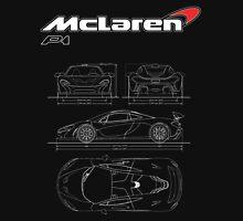Mclaren P1 Logo with Illustration Unisex T-Shirt