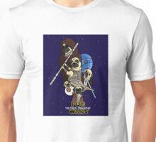 Pug Wars: The Force Pugwakens Unisex T-Shirt