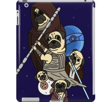 Pug Wars: The Force Pugwakens iPad Case/Skin