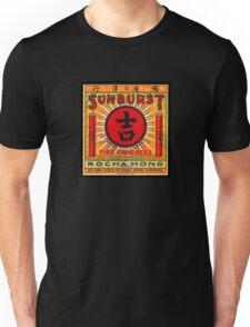 Vintage Retro Good Luck Sunburst Firecracker Unisex T-Shirt