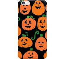 Pumpkins everywhere for Halloween iPhone Case/Skin