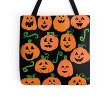 Pumpkins everywhere for Halloween Tote Bag