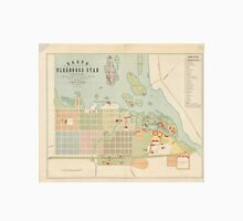 Vintage Map of Oulu Finland (1886) Unisex T-Shirt
