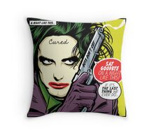 Post-Punk Night Throw Pillow