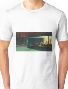 Pennywise in Hopper's Nighthawks Unisex T-Shirt