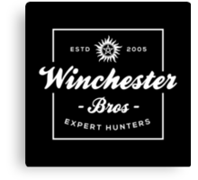 Winchester Bros - Expert Hunters Canvas Print