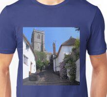 CHURCH STEPS MINEHEAD SOMERSET ENGLAND Unisex T-Shirt