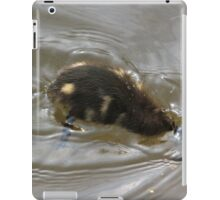 Diving duckling iPad Case/Skin