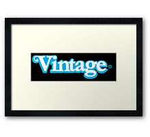 Celebrate Vintage Toys in the Kenner Toys Style Logo  Framed Print