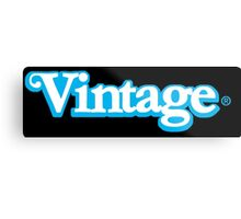 Celebrate Vintage Toys in the Kenner Toys Style Logo  Metal Print