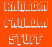 Random Fandom Stuff Kids Tee