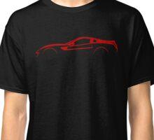 Ferrari 599 GTB GTO Silhouette  Classic T-Shirt